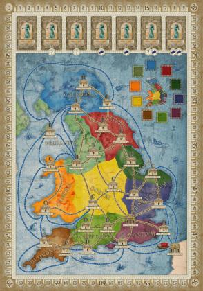 Concordia, Britannia/Germania (Spiel-Zubehör)