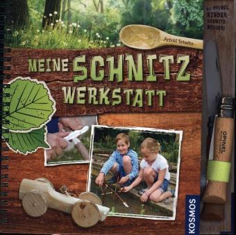 Meine Schnitzwerkstatt, m. Kinderschnitzmesser