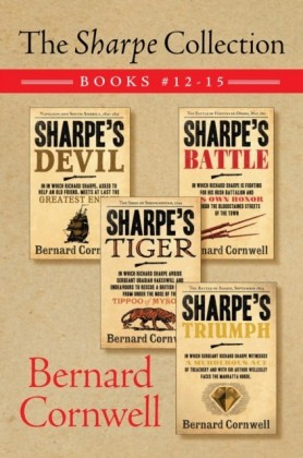 Sharpe Collection: Books #12-15