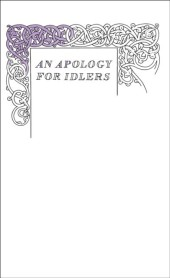Apology for Idlers