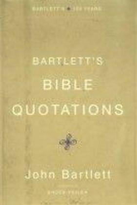 Bartlett's Bible Quotations