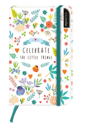 myNOTES: Celebrate the Little Things / Notizbuch klein / Liniert