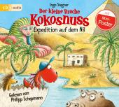 Der kleine Drache Kokosnuss - Expedition auf dem Nil, 1 Audio-CD Cover