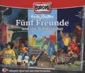 Fünf Freunde - und die Schatzräuber, 3 Audio-CDs