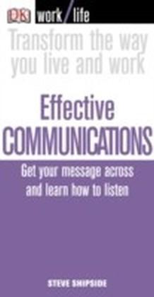 Work/Life: Effective Communications