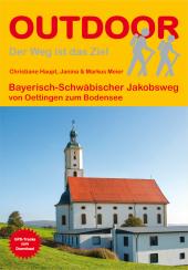 Bayerisch-Schwäbischer Jakobsweg von Oettingen zum Bodensee Cover