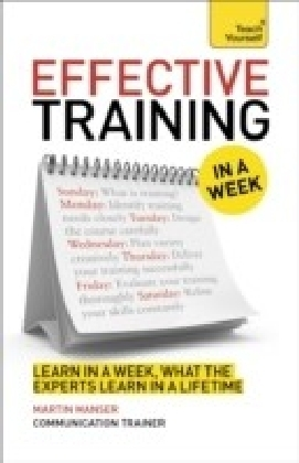 Effective Training in a Week: Teach Yourself