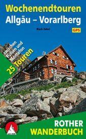Rother Wanderbuch Wochenendtouren Allgäu, Vorarlberg Cover