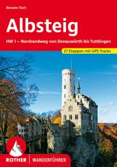Rother Wanderführer Albsteig Cover