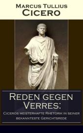 Reden gegen Verres: Ciceros meisterhafte Rhetorik in seiner bekannteste Gerichtsrede