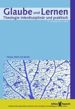Glaube und Lernen 2/2014 - Einzelkapitel