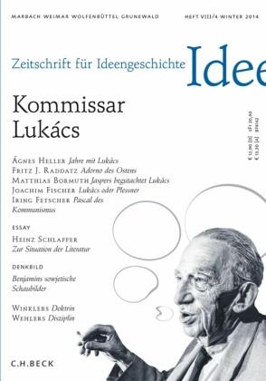 Zeitschrift für Ideengeschichte Heft VIII/4 Winter 2014