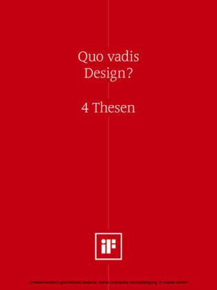 Quo vadis Design? (DE)
