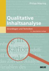 Qualitative Inhaltsanalyse Cover