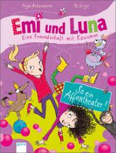 Emi und Luna. Eine Freundschaft mit Kawumm - So ein Affentheater! Cover