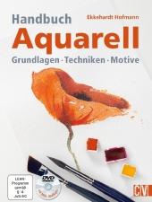Handbuch Aquarell, m. DVD Cover
