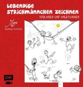 Lebendige Strichmännchen zeichnen Cover