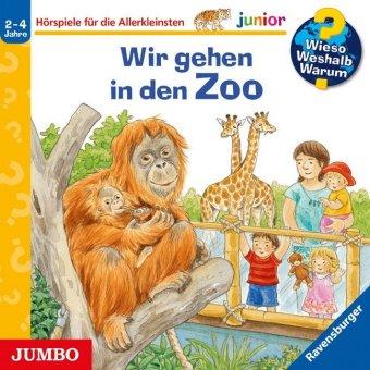 Wir gehen in den Zoo, Audio-CD