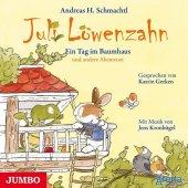 Juli Löwenzahn - Ein Tag im Baumhaus und andere Abenteuer, Audio-CD Cover