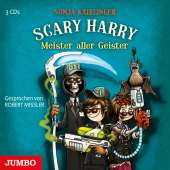 Scary Harry - Meister aller Geister, 3 Audio-CDs