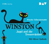 Winston - Jagd auf die Tresorräuber, 3 Audio-CDs Cover