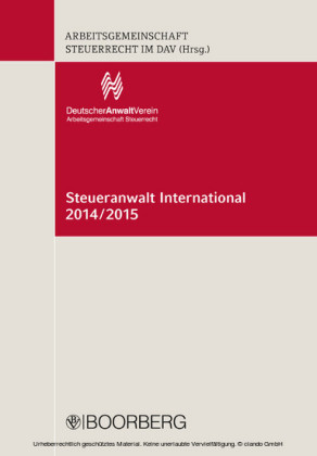 Steueranwalt International 2014/2015