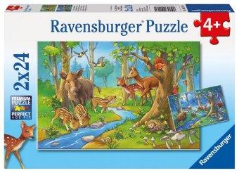 Tiere des Waldes (Kinderpuzzle)