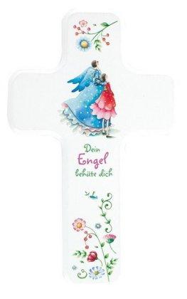 Dein Engel behüte dich, Kinderholzkreuz