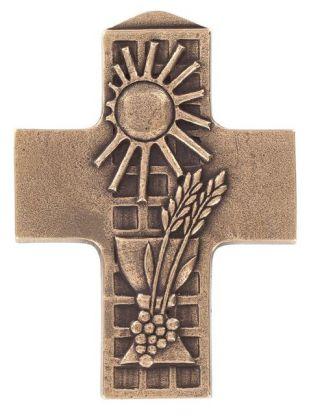 Bronzekreuz Kommunion