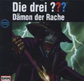 Die Drei Fragezeichen - Dämon der Rache, 1 Audio-CD Cover