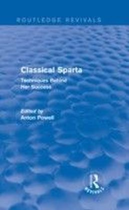 Classical Sparta (Routledge Revivals)