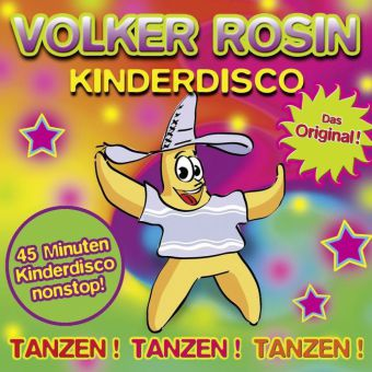 Kinderdisco - Das Original!, 1 Audio-CD
