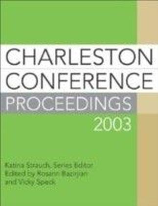 Charleston Conference Proceedings 2003