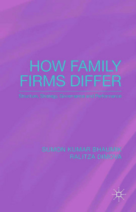 How Family Firms Differ