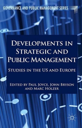 Developments in Strategic and Public Management