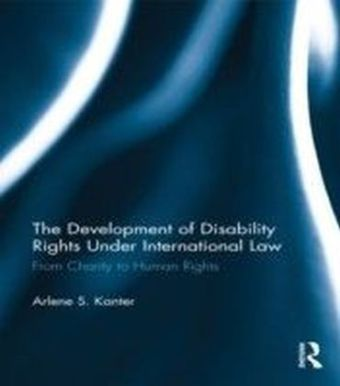 Development of Disability Rights Under International Law