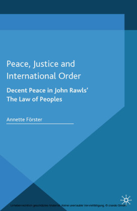 Peace, Justice and International Order