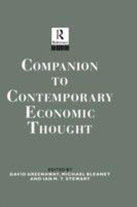 Companion to Contemporary Economic Thought
