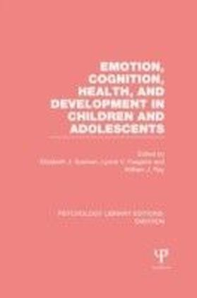 Emotion, Cognition, Health, and Development in Children and Adolescents (PLE: Emotion)
