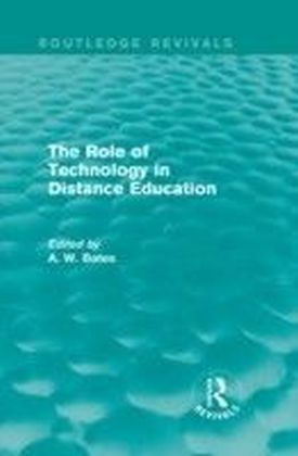 Role of Technology in Distance Education (Routledge Revivals)