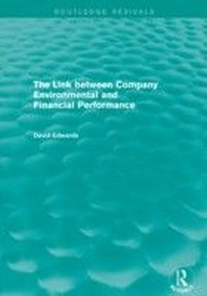 Link Between Company Environmental and Financial Performance (Routledge Revivals)