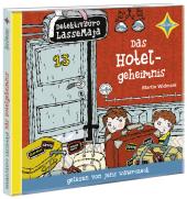 Detektivbüro LasseMaja - Das Hotelgeheimnis, 1 Audio-CD Cover