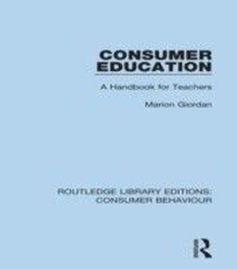 Consumer Education (RLE Consumer Behaviour)