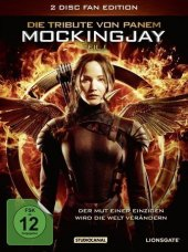 Die Tribute von Panem - Mockingjay, 2 DVDs (Fan Edition) Cover