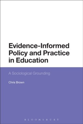 Evidence-Informed Policy and Practice in Education