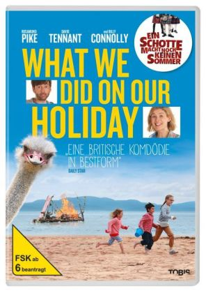 What We Did on Our Holiday, 1 DVD