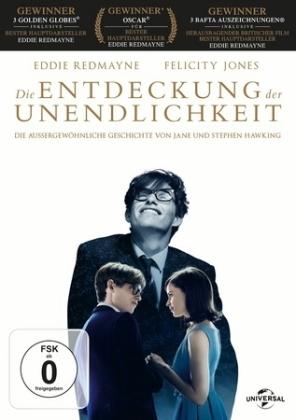 Die Entdeckung der Unendlichkeit, 1 DVD