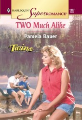 Two Much Alike (Mills & Boon Vintage Superromance)