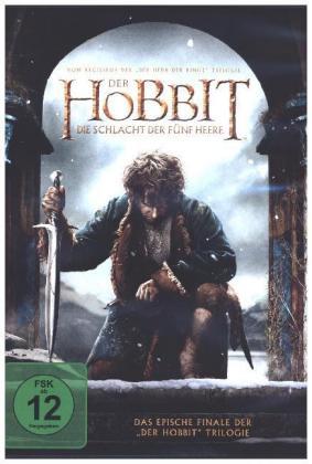 Der Hobbit: Die Schlacht der fünf Heere, 1 DVD