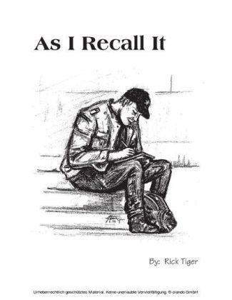 As I Recall It